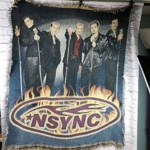 Other - NSYNC blanket throw tapestry boy band